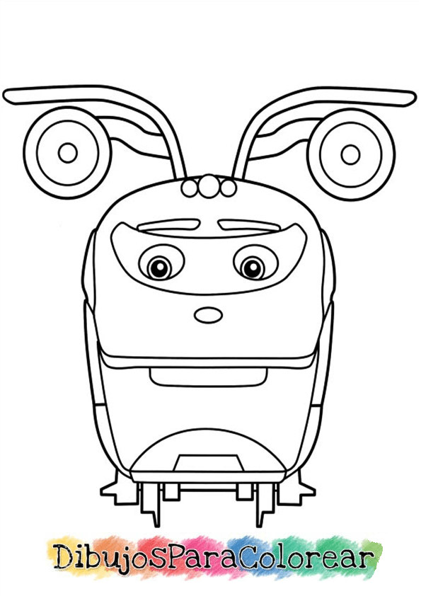 colorear chuggington