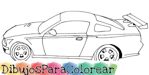 Dibujos De Coches Para Colorear: Dibujos De Coches Para Colorear. Gallery Of Coches Dibujos