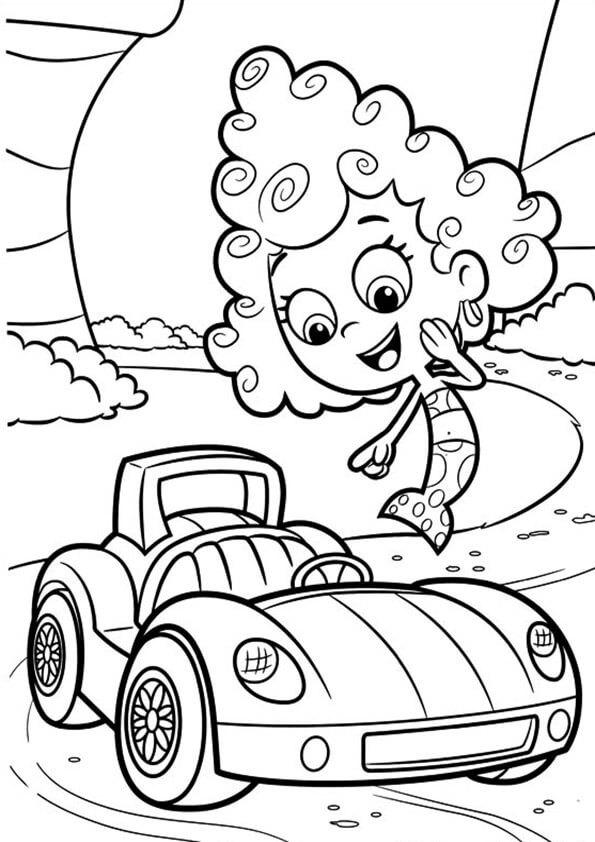 Dibujos de bubble guppies para pintar