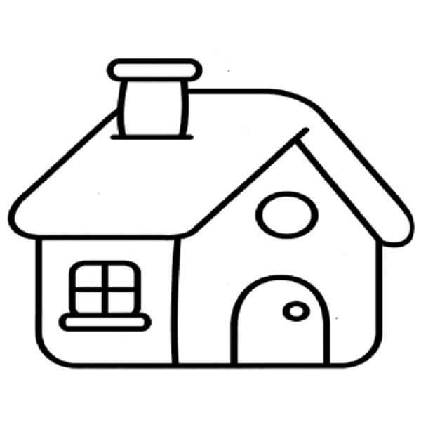 Dibujos para colorear de casas - Presupuesto para pintar una casa ...