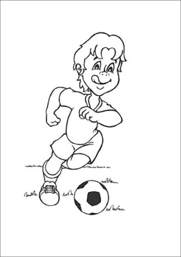 Dibujos de fútbol para pintar